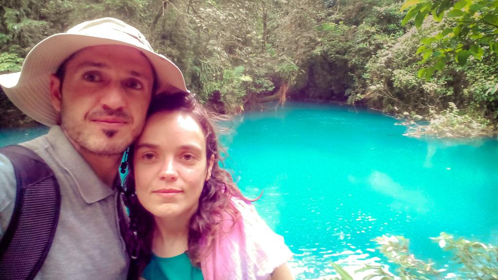 Nós na Costa Rica, em Novembro de 2014